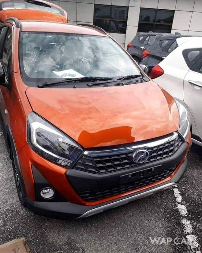 2019 Perodua Axia Style front