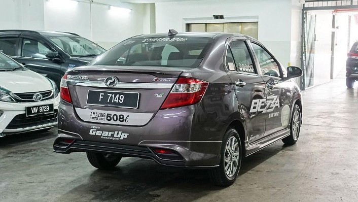 2018 Perodua Bezza 1.3 Advance Exterior 005