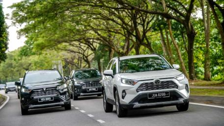 2020 Toyota RAV4 2.5L Price, Reviews,Specs,Gallery In Malaysia | Wapcar