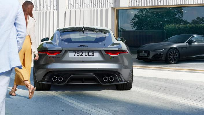2020 Jaguar F‑TYPE Coupe Exterior 005