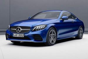 New Mercedes-Benz C200 Coupe AMG Line with new engine, 204 PS and 300 Nm