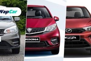 Perodua Bezza 2020 baru vs. Proton Saga vs. Proton Persona – harga lebih kurang sama, nilai berbeza?