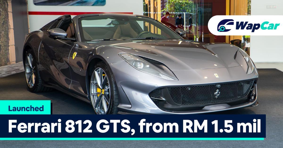 Ferrari 812 Gts Lands In Malaysia Last Ferrari Na V12 From Rm 1 5 Mill Before Tax Wapcar