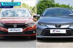 Honda Civic 1.5 TC-P vs Toyota Corolla Altis 1.8 G – mana lebih berbaloi?
