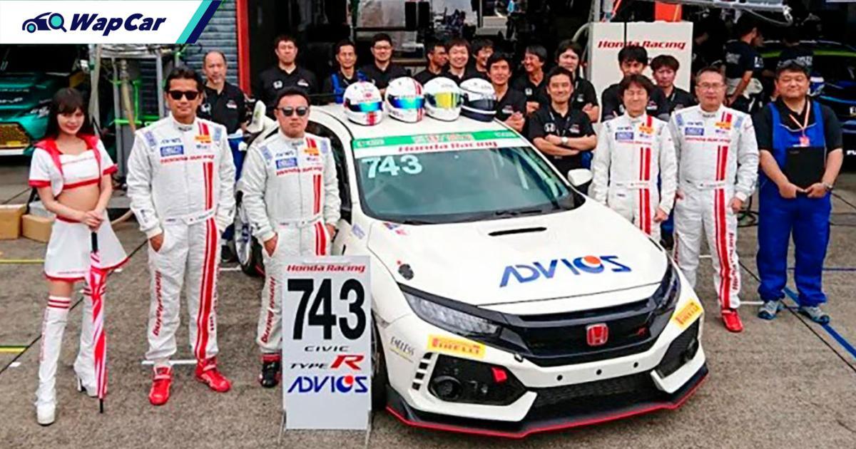 Honda Civic Type R's boss Kakinuma joins Super Taikyu race 01