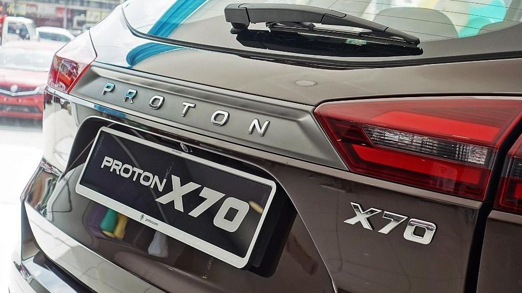 2018 Proton X70 1.8 TGDI Premium 2WD Exterior 037