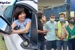Pemandu trak langgar cermin kereta BMW, dapat hadiah tiket flight atas kejujuran