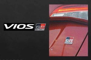 2021款Toyota Vios GR Sport更多细节浮出水面:10速CVT+运动悬吊!