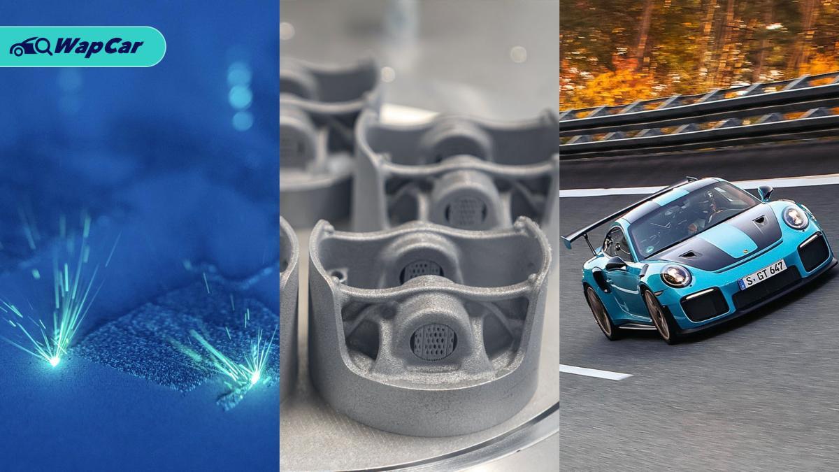 3D-printed pistons for Porsche 911 GT2 RS, new business opportunities for Porsche 01