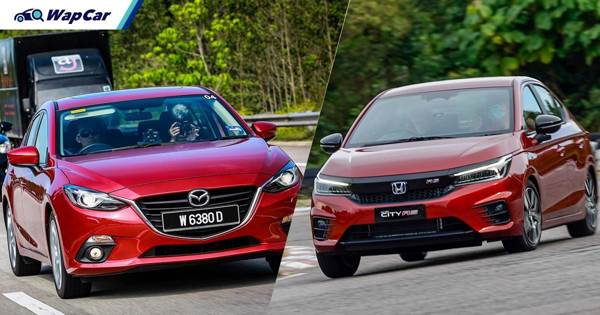 Mazda 3 terpakai vs Honda City RS baru untuk RM 100k, yang mana lebih berbaloi? 01