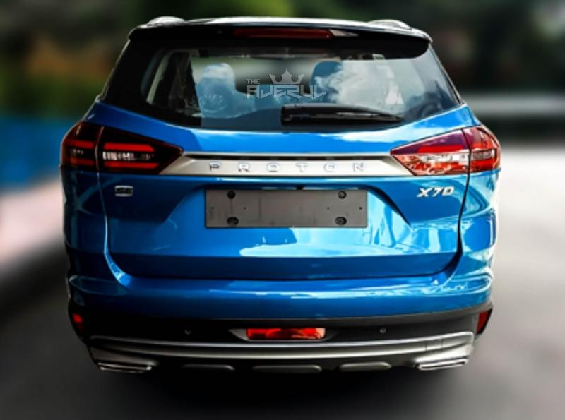 Leaked: First clear look at 2021 Proton X70 SE with new Ocean Blue colour 02