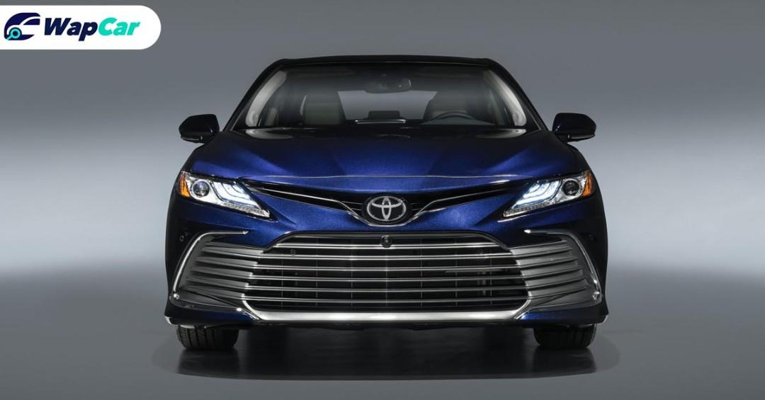 New 2021 Toyota Camry facelift gets TSS 2.5+ and new floating touchscreen  01
