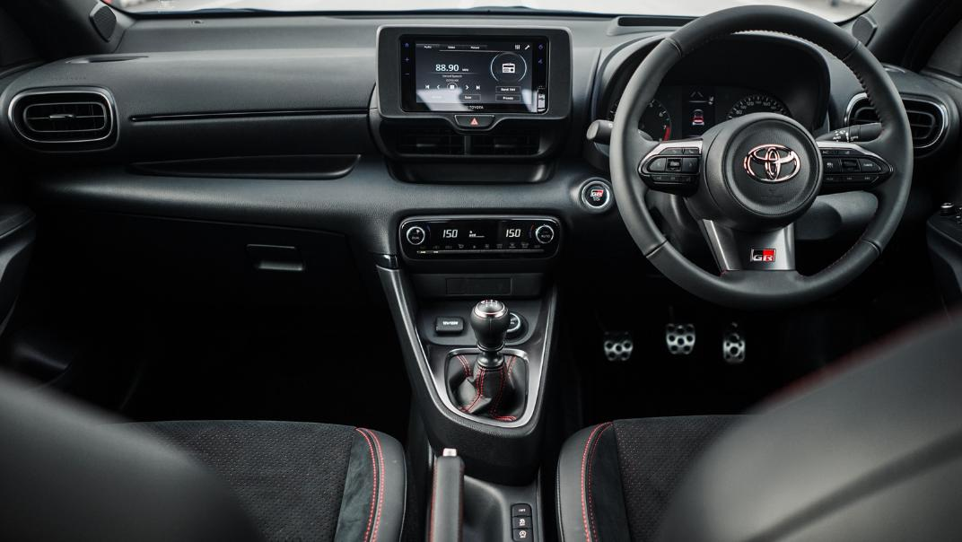 2021 Toyota GR Yaris Interior 034