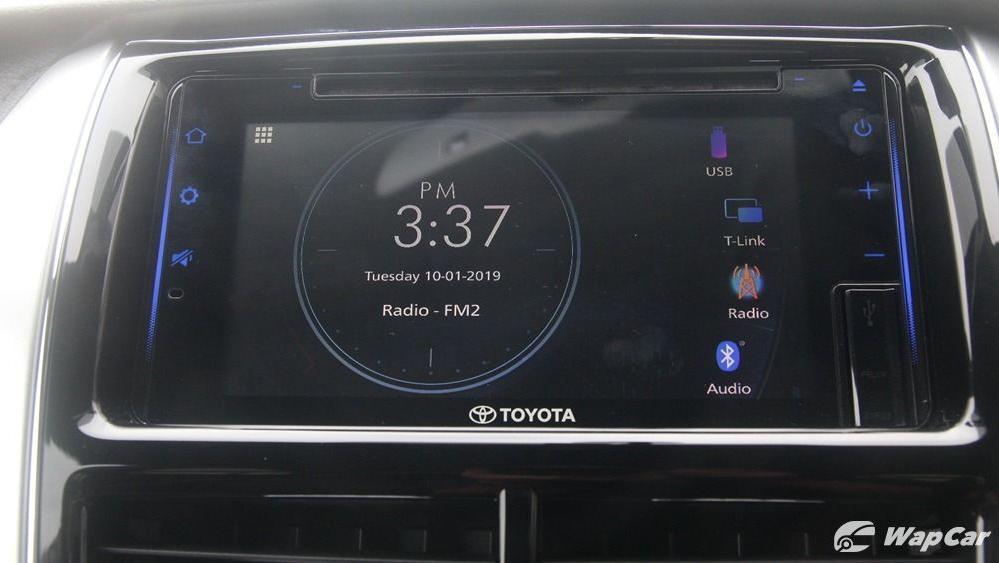 2019 Toyota Vios 1.5G Interior 044