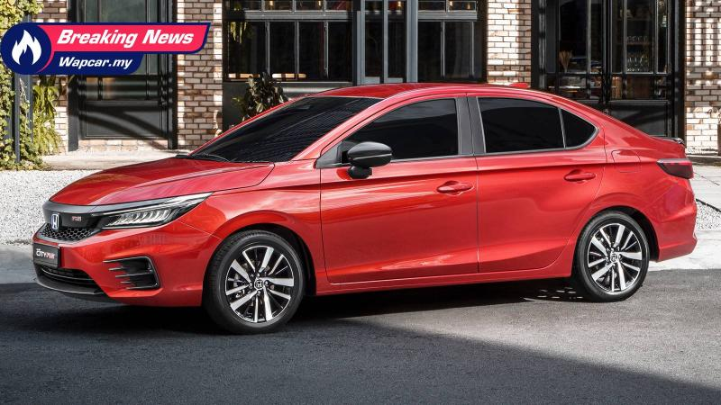 All New 2020 Honda City Rs Open For Booking In Malaysia Comes With Brand New I Mmd Engine Wapcar