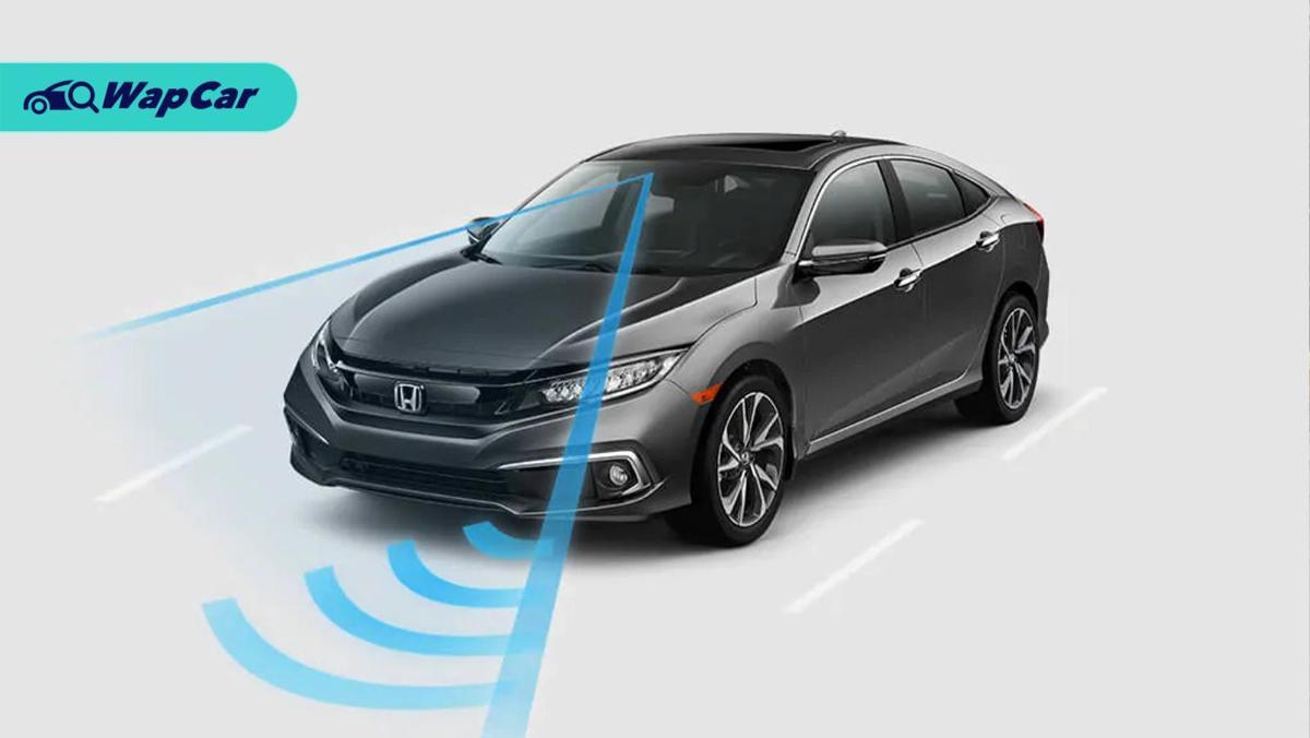 Sistem Bantuan Pemandu (ADAS) dalam Honda Civic (Honda Sensing) adalah yang terbaik! 01