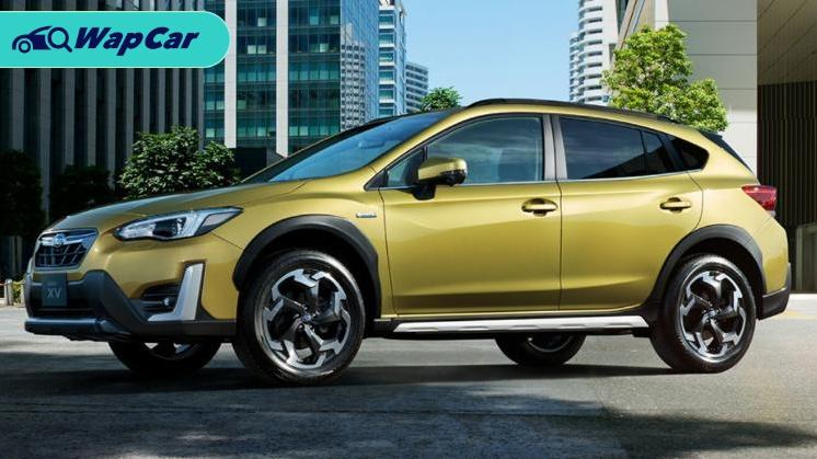 Subaru XV facelift launched in Japan; New grille,e-Active Shift Control 01