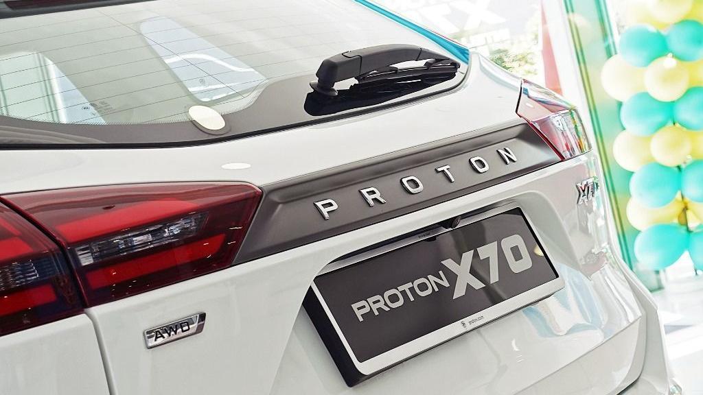 2018 Proton X70 1.8 TGDI Executive AWD Exterior 032