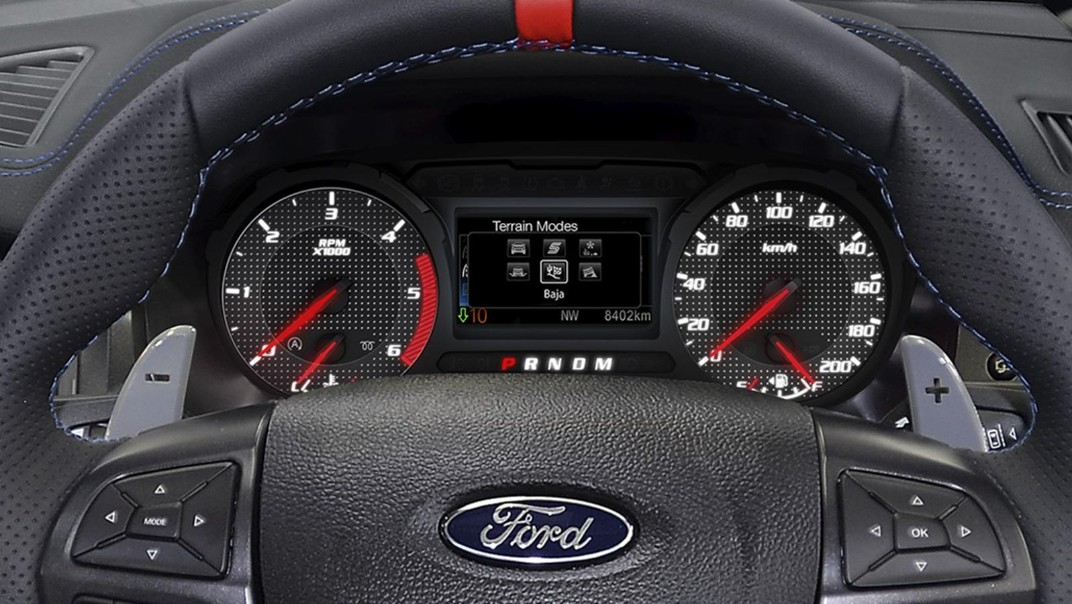 2021 Ford Ranger Raptor 2.0 Bi-Turbo Interior 003