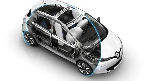 Renault Zoe (2016) Interior 006