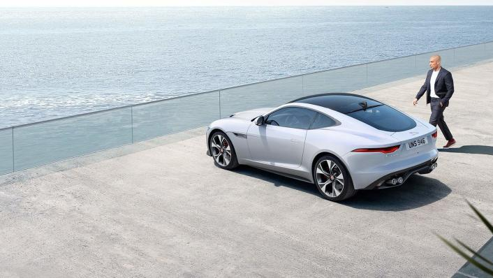 2020 Jaguar F‑TYPE Coupe Exterior 006