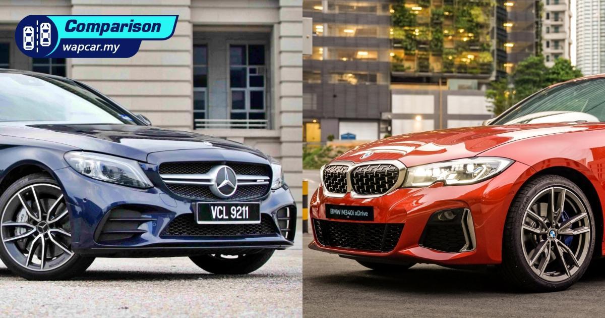 2020 G20 Bmw M340i Vs 2019 W205 Mercedes Amg C43 Which Is The Ultimate Performance Sedan Wapcar