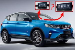 Hi Proton, what's the difference in the Proton X50's GKUI 19 infotainment?