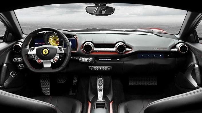 Ferrari 812 Superfast (2017) Interior 001
