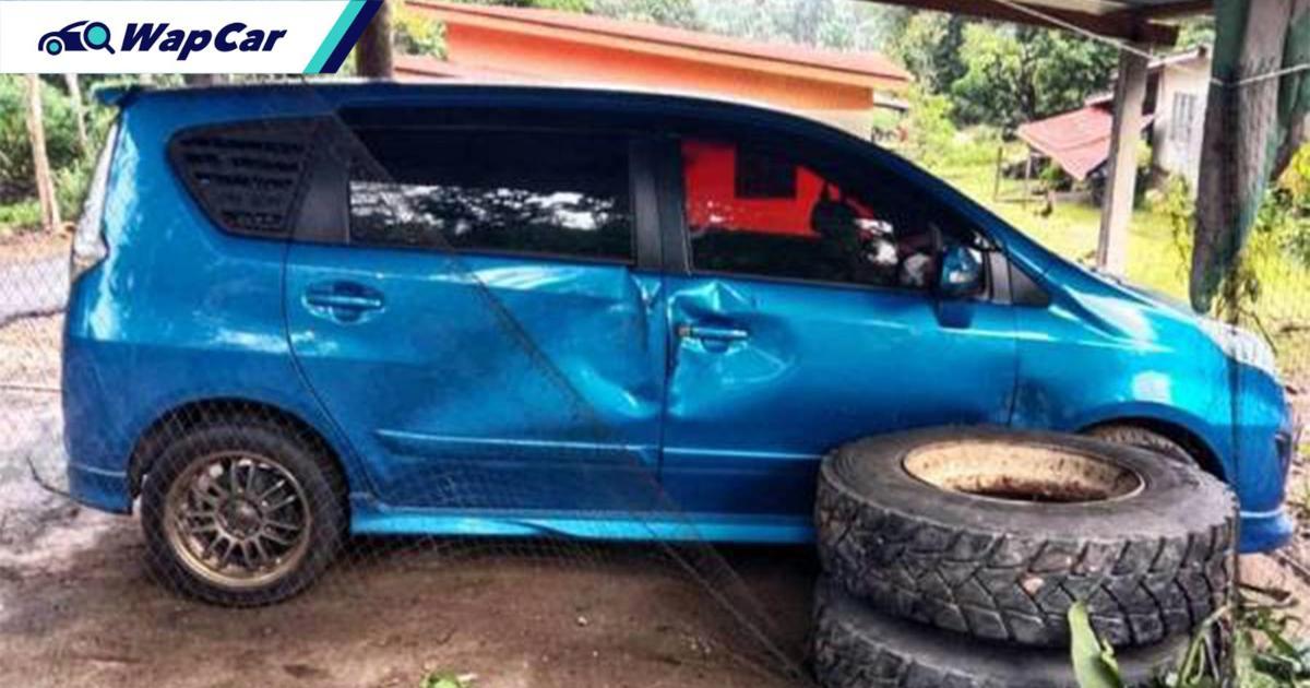 Perodua Alza jadi hero selamatkan keluarga 01