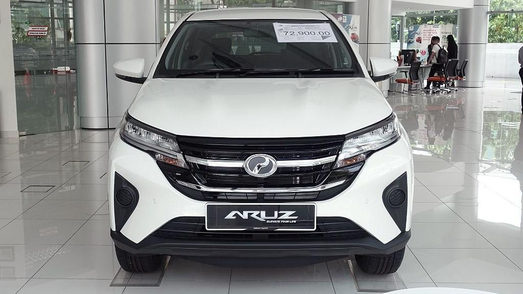 2019 Perodua Aruz 1.5 X Exterior 002