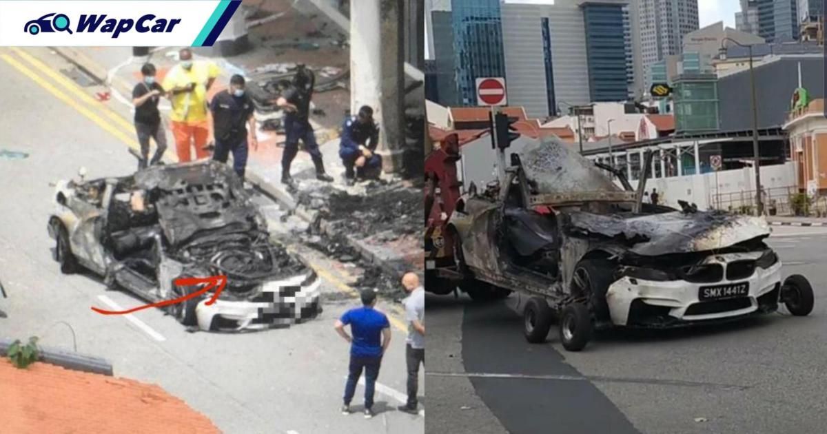 5 new facts about the BMW M4 crash in Singapore 01