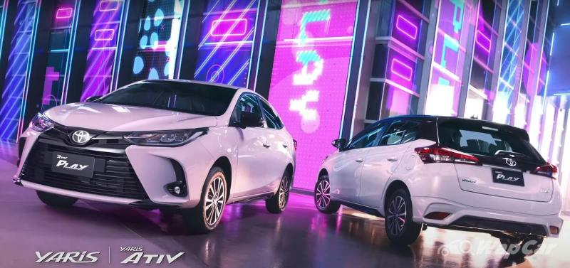 Can the 2021 Toyota Yaris Play finally beat the City Hatchback's coolness? 02