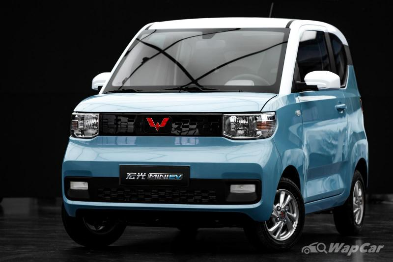 Wuling Hong Guang Mini EV on sale in Thailand for RM 49k! But it's unofficial 02
