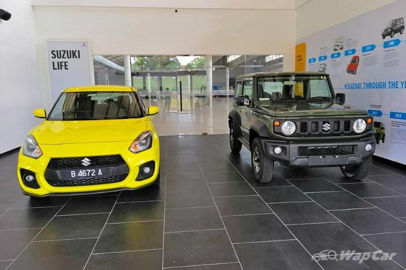 2021 Suzuki Jimny spotted at Naza, launch in Malaysia imminent 02