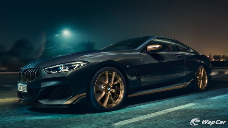 2020 BMW 8 Series gets a 'Golden Thunder' edition in Europe 02