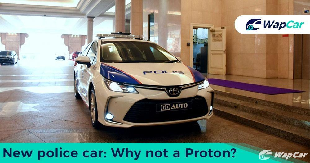 Why PDRM chose Toyota Corolla Altis as police cars instead of Proton models? 01