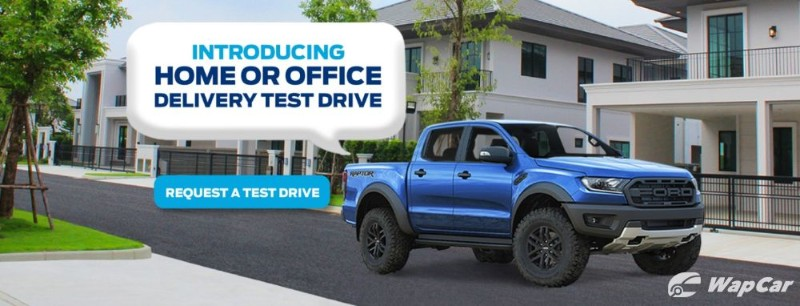 Ford Malaysia will now deliver a test drive unit to your doorstep 02
