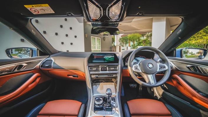 2020 BMW 8 Series 840i Gran Coupé M Sport Interior 001