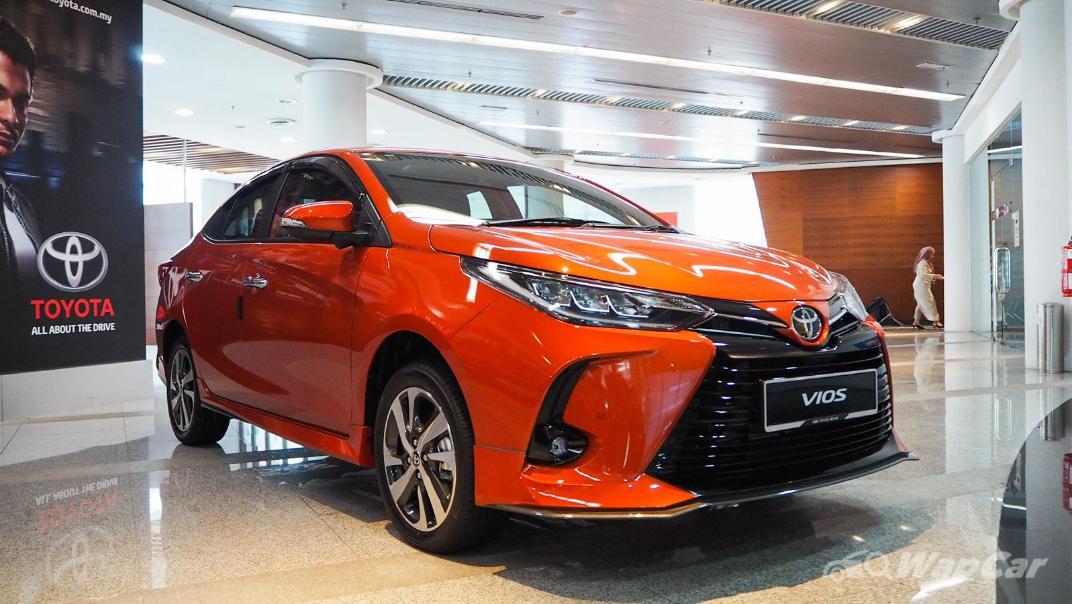 2021 Toyota Vios 1.5G Exterior 001