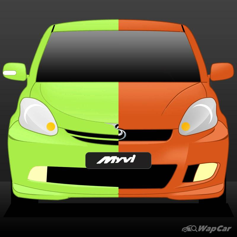 Evolution of the Perodua Myvi in 3 generations – Malaysia's most loved hatchback? 02