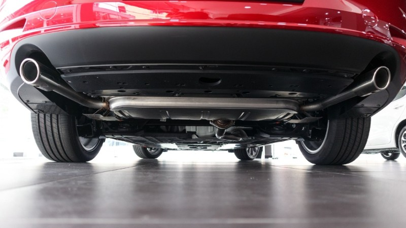 Mazda 3 torsion beam suspension