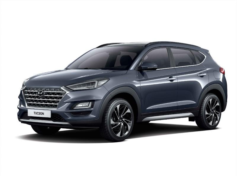 Hyundai Tucson with Android Auto