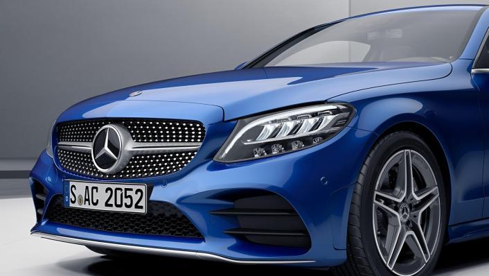 2020 Mercedes-Benz C-Class Coupe C 200 AMG Line Exterior 006
