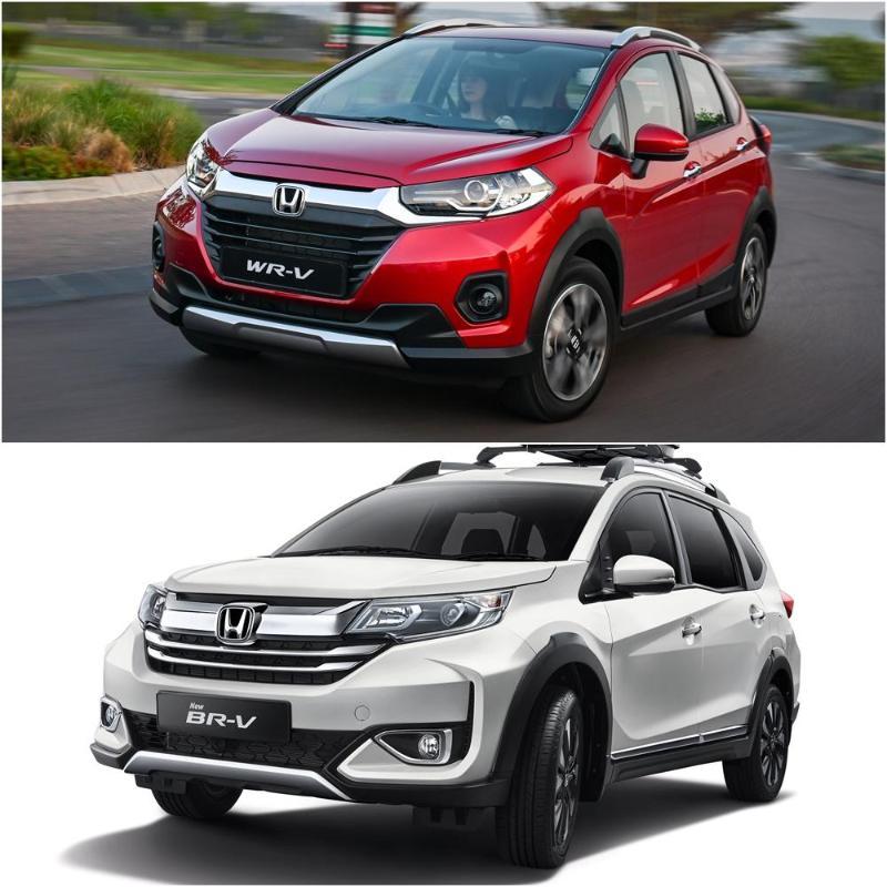 Honda BR-V generasi kedua / Honda WR-V bakal menjadi produk kilang Honda di Indonesia? 02