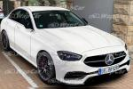 Adakah ini rupa sebenar Mercedes-Benz C-Class W206 2021?