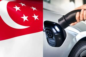 Singapore banks push for EVs, property developers to install EV charging points
