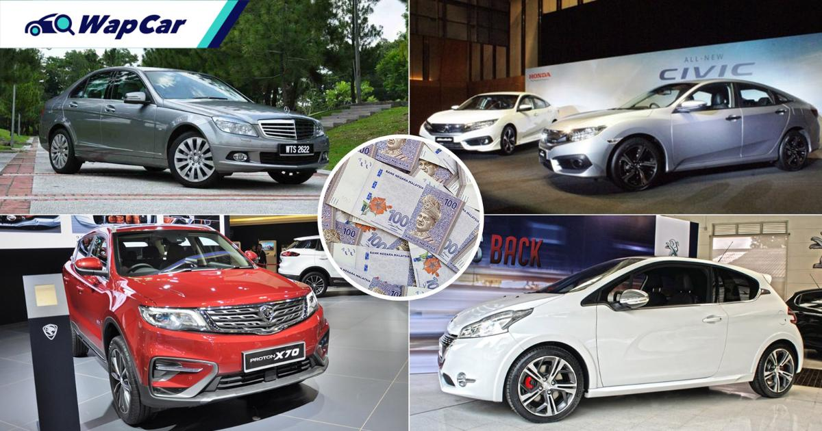 Earn RM 4k a month? Here are 6 great used cars, from Civic to C-Class 01