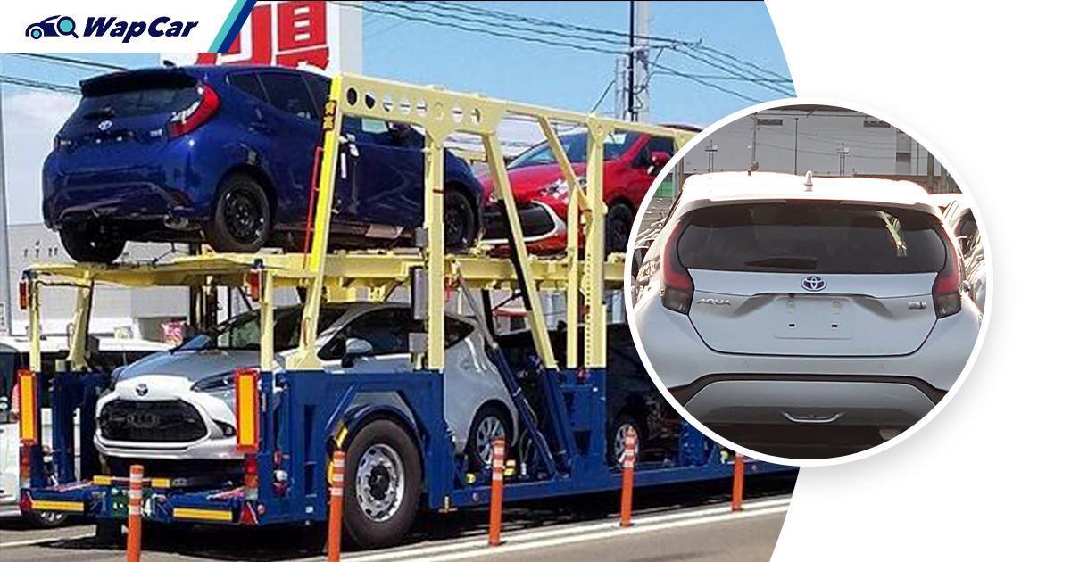 All-new 2021 Toyota Prius C (Aqua) spied in Japan 01