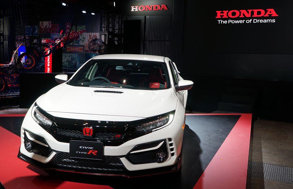 2020 Honda Civic Type R facelift at Tokyo Auto Salon
