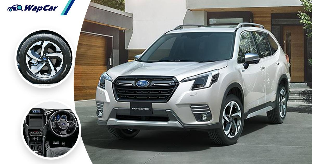 Japan's 2021 Subaru Forester facelift wears a new look, comes with better EyeSight ADAS 01